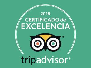 certificado de excelencia 2018